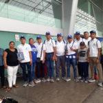 Arribó la Selección Nacional de Beisbol Sub-15 tras competir en el Premundial de México