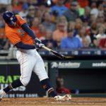 Astros de Houston con triple celebración, banderín incluido