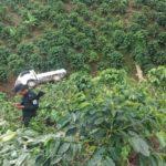 Un hombre muere tras volcar el camión que conducía a orillas de un cafetal en Matagalpa