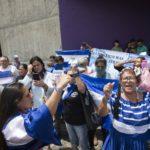 Realizan piquete exprés en rechazo a la decisión de Ortega de no dejar entrar a la comisión de la OEA