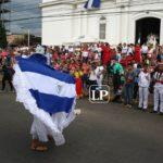 Autoconvocados celebran fiestas patronales de Matagalpa y protestan contra el régimen orteguista
