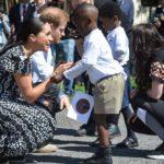 El príncipe Harry, Meghan y Archie en visita oficial en familia a África austral