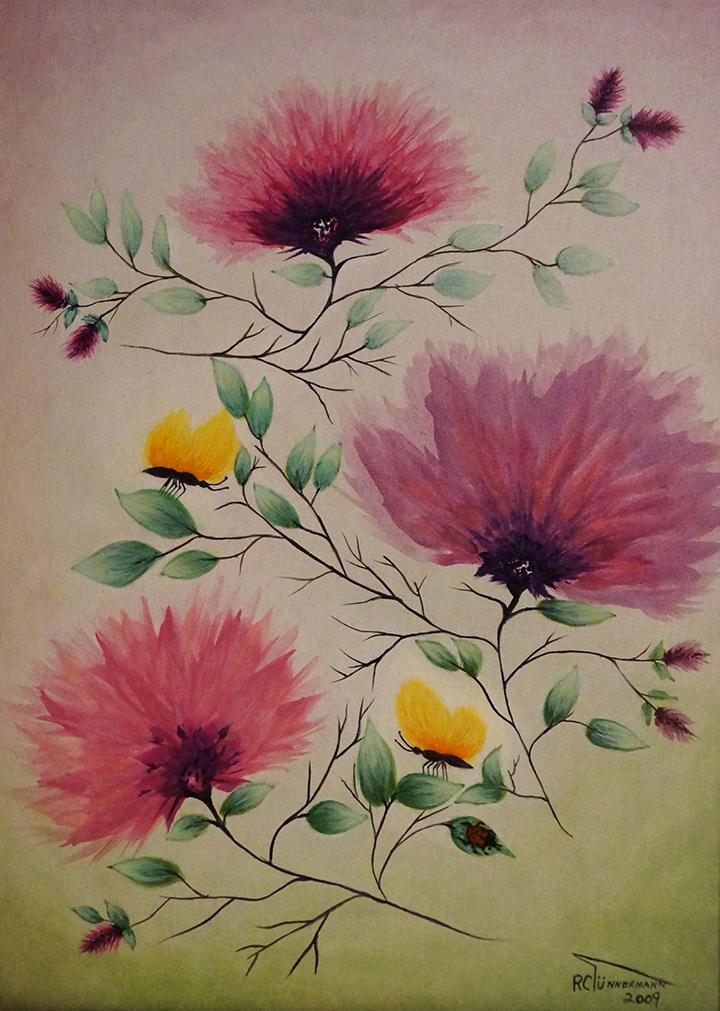 Pintura de Rosa Carlota Tünnermann