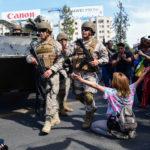 Nuevos enfrentamientos en Santiago, Chile, en un extendido estallido social