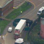 Hallan 39 cadáveres en el interior de un camión en Essex, Reino Unido