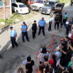 Policía Orteguista intimida y agrede a un grupo de defensoras de derechos humanos en Matagalpa