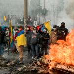 Indígenas de Ecuador piden al presidente Lenín Moreno la destitución de dos ministros