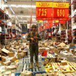 Protestas en Chile: los saqueos que se registraron en Santiago en medio de masivas manifestaciones