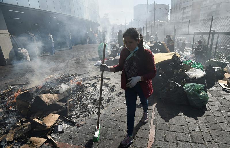 Ecuador, protestas