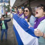 Protestan de nuevo en Camino de Oriente, para conmemorar un año de su detención por la dictadura en este lugar