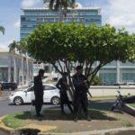 Policía Orteguista impide realización de piquetes exprés en Managua