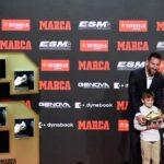 Messi recibió su sexta Bota de Oro al mejor goleador de las ligas europeas