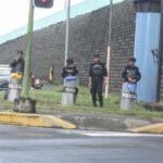 Piquetes exprés alborotan a la Policía Orteguista en Managua