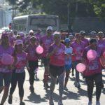 Nicaragüenses corren en el Día Mundial de la lucha contra del cáncer de mama
