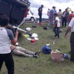 Dos muertos y más de 10 heridos tras volcarse un autobús en Las Calabazas, Matagalpa