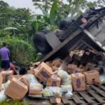 Un hombre muere tras volcarse un camión en un barranco en El Cuá, Jinotega