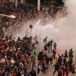 Colapso en el aeropuerto de Barcelona tras protestas, en fotos