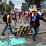 Lenín Moreno impone toque de queda en Quito por la intensificación de las protestas en Ecuador