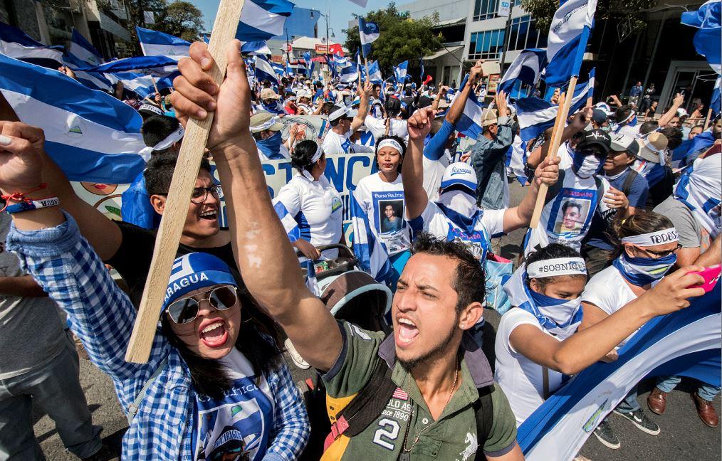 """Exiliados políticos y artistas en Costa Rica convocan a la multitudinaria  marcha """"Grito por la libertad"""""""