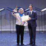 La escritora María López Vigil recibe el Premio Cervantes Chico Iberoamericano 2019