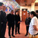 Embajador de la Unión Europea visita el museo en homenaje a las víctimas de la represión orteguista