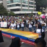 Multitudinarias protestas contra el gobierno de Iván Duque en Colombia
