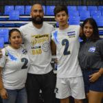 """El hijo del """"Pulpo"""" Espinoza quiere hacer su propia historia en el voleibol"""