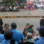 Policía Orteguista impide que feligreses asistan a eucaristía en Iglesia San Miguel Arcángel