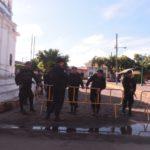 EN VIVO| Policía rodea la iglesia San Miguel Arcángel donde madres de reos políticos realizan una huelga de hambre