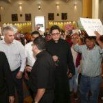 Sacerdote agredido en Catedral de Managua: «Haré una serie de exorcismos por estos hermanos que están siendo instrumento de Satanás»