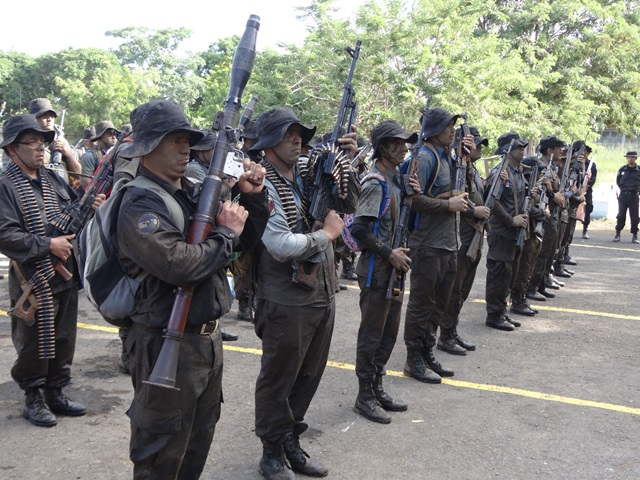 Managua bajo estado policial