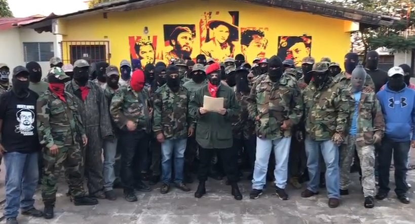 """Miembros del """"Frente Norte Carlos Fonseca Amador"""" amenazan a opositores con """"aniquilarlos totalmente"""" - La Prensa (Nicaragua)"""