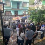Turbas atacan en iglesia de Matagalpa a la vista de los antimotines