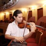 Oscar Bohórquez, uno de los violinistas jóvenes más prometedores del momento en concierto