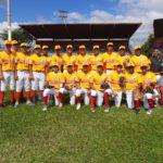 Siguen arrasando en el Campeonato Nacional de Beisbol Juvenil AA