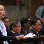 La defensa de Aung San Suu Kyi en el tribunal en La Haya sobre las acusaciones de genocidio contra Myanmar
