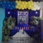 EN VIVO | Botellas de agua, banderas nacionales invertidas y cortinas azul y blanco adornan los altares marianos