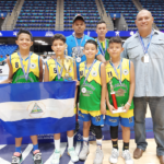 Nicaragua conquista bronce en el Latinoamericano de Minibaloncesto 3×3