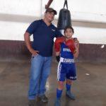 El zurdito explosivo del gimnasio de boxeo del Iván Montenegro solo sueña ser campeón olímpico