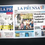 Más de 70 semanas de bloqueo de papel por parte del régimen orteguista asfixian a LA PRENSA