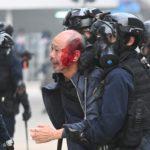 Manifestación por el sufragio universal deriva en nuevos disturbios en Hong Kong