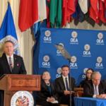 Pompeo elogia rol de la OEA en la región: «Ha estado en la vanguardia de la ayuda al pueblo venezolano»