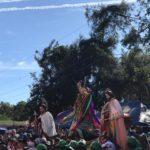 Tradición, devoción y cultura en el tope de los Santos en Diriamba