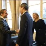 Macron recibió a Guaidó este viernes en París