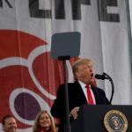 Trump: Siento un «honor profundo» al ser el primer presidente en asistir a Marcha por la Vida
