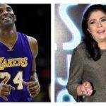 Kobe Bryant aprendió español gracias a la actriz mexicana Victoria Ruffo
