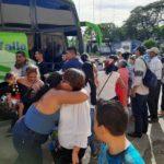 Llegan a Managua aproximadamente 60 nicaragüenses deportados de Estados Unidos