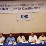 Homenaje a los antiguos miembros de la UNO, que derrotaron a Daniel Ortega en 1990
