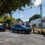 Por quinto día consecutivo, la Policía Orteguista tiene cercadas las casas de Jaime Arellano y de Lolo Blandino