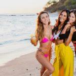 Las fotos de tres reinas costarricenses disfrutando de la playa en Nicaragua